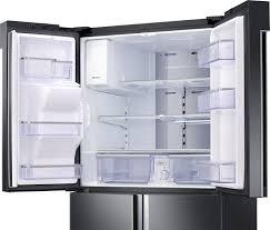 Samsung Cabinet Depth Refrigerator Rf22k9581sr Samsung 22 Cu Ft Counter Depth Family Hub