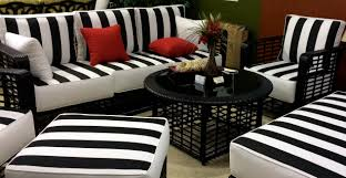 lovely ideas black and white patio furniture trendy idea cushions