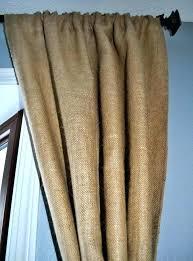 Grommet Burlap Curtains Burlap Curtains With Grommets Gruposorna