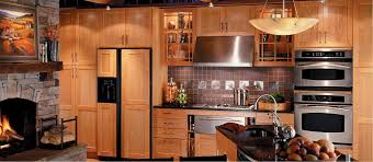 Kitchen  Fancy Kitchen Decoration Using Rustic Cherry Kitchen - Rustic cherry kitchen cabinets