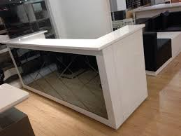 Salon Reception Desk Furniture 2 45meter 8 Ft Sale Wholesale U Shaped Salon Front