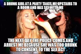 Drunk Sex Meme - if everything was treated like sex