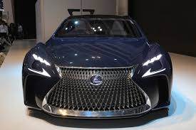 lexus lf lc sedan lexus lf fc flagship concept is a thinly veiled ls with fuel cell