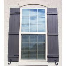 decorative vinyl shutter hardware exterior shutter hardware