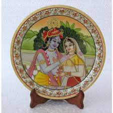 home decor u0026 handicrafts miniature painting of radha krishna
