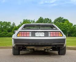 1982 delorean dmc 12 classic car photography by william horton