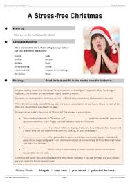 christmas efl esl worksheets games activities and lesson plans