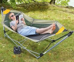Hammock Hangers Portable Folding Rv Hammock Rv Must Haves