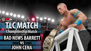wwe 2k16 ps4 british bulldog vs x pac vs rikishi full match wwe 2k16 john cena vs bad news barrett tlc wwe world