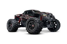 monster truck racing uk traxxas x maxx 4wd monster truck red