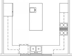 u shaped kitchen floor plan best small u shaped kitchen floor plans all about house design