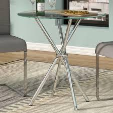 Zipcode Design Console Table Zipcode Design Vince Glass Dining Table U0026 Reviews Wayfair