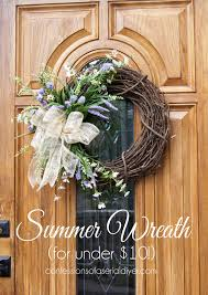 summer wreath diy summer wreath for 10 confessions of a serial do it
