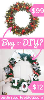 how to make a dollar tree wreath buy or diy