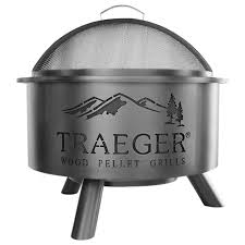 outdoor fire pit traeger style traeger wood fired grills