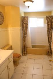 mustard yellow tub and toilet updated bathroom mustard yellow