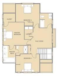 Floor Plan Bungalow Kitsap Second Floor Floor Plan Reverse Floor Plan Pinterest