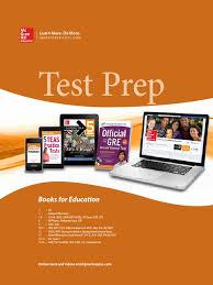 mcgraw hill test prep 2013 sat graduate record examinations