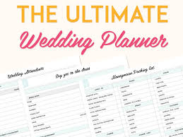 ultimate wedding planner the ultimate wedding planner