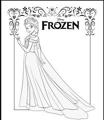 91 frozen colouring pages images drawings