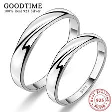 rings silver images 1pcs lovers ring 925 sterling silver rings korean style pure jpg