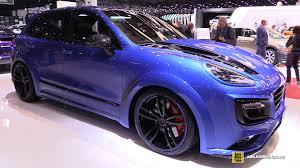 2017 porsche cayenne turbo s 2016 porsche cayenne turbo s techart magnum sport exterior