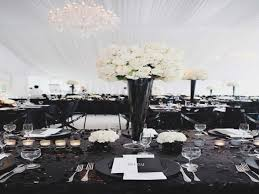 black and white centerpieces attending black and white centerpieces for wedding can be a