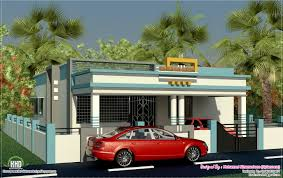 model single floor home design plans building house kerala also