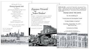 wedding invitations nyc invitations for a party with a new york city theme