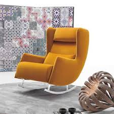 Wing Back Chair Design Ideas Fabolous Yellow Wingback Chair Design Ideas Rilane