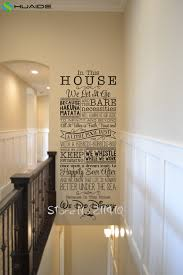 House Rules Design Ideas Online Buy Wholesale House Rules Wall Stickers From China House