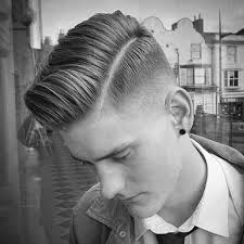 mans old fashion haircut parted down middle 50 low fade haircuts for men a stylish middle