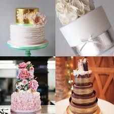 metallic wedding cakes 17 stylish designs hitched co uk