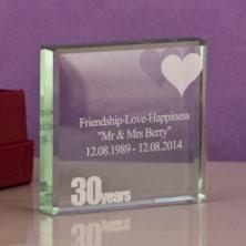 30th wedding anniversary gift ideas pearl 30th wedding anniversary gifts the gift experience