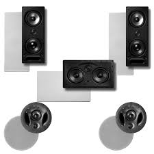home theater speakers in wall or ceiling amazon com polk audio 900 ls in ceiling in wall speaker system