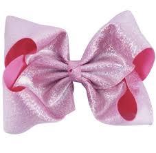 large ribbon large ribbon bow jojo inspired shimmer bows gold silver pink