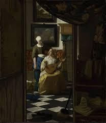 vermeer pearl necklace the letter vermeer