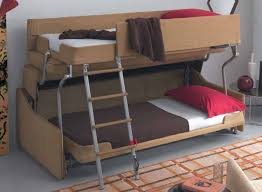 Wood And Metal Bunk Beds Minimalist Living Area Design With Palazzo Bunk Bed In