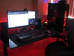 gaming battlestation gaming setup pc setup and computer setup