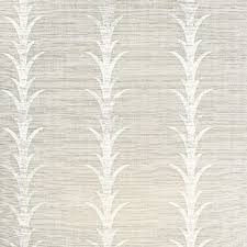 schumacher acanthus stripe seaglass u0026 chalk wallpaper