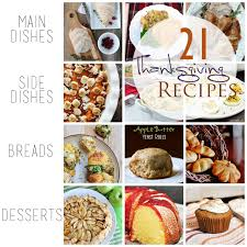 thanksgiving recipe ideas cherished bliss