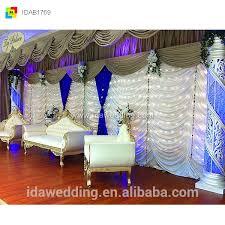 cheap wedding backdrops ready made curtains drapes cheap wedding