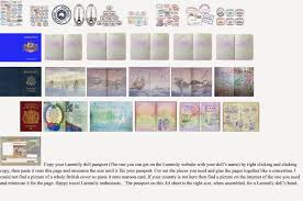 images of passport template printable each sc
