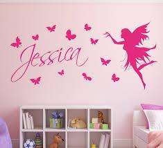 butterfly fairy girls wall art wall sticker decorative butterflies