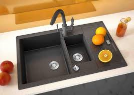black kitchen sink faucets black kitchen sinks countertops and faucets 25 ideas adding