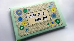 baby boy memory book create a baby memory book diy crafts guidecentral