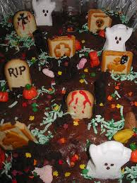 halloween cake decorating ideas graveyard halloween decoration