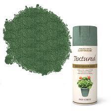green spray paint diy