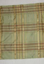 Silk Plaid Drapes Country Curtains Plaid Curtains Drapes U0026 Valances Ebay