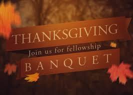 thanksgiving banquet baptist church